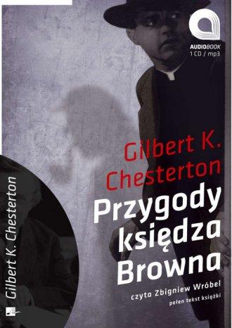 Przygody księdza Browna (CD) - pudełko audiobooku