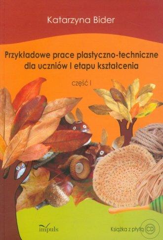 Przykładowe prace plastyczno-techniczne - okładka podręcznika