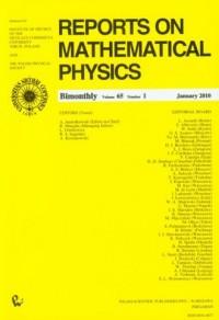 Reports on Mathematical Physics 65/1 2010 Kraj - okładka książki