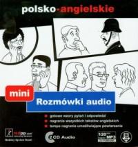 Rozmówki planszowe mini polsko-angielskie (+ 2 CD) - okładka książki