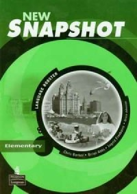 Snapshot New Elementary Lanquage Booster - okładka książki