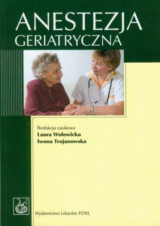 Anestezja geriatryczna - okładka książki