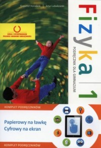 Fizyka z plusem. Klasa 1. Gimnazjum. Podręcznik + multipodręcznik - okładka podręcznika