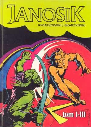 Janosik. Tomy 1-3 - okładka książki