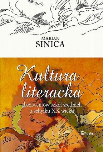 Kultura literacka absolwentów szkół - okładka książki