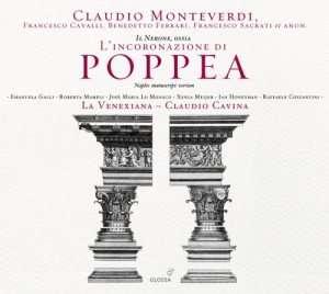 L incoronazione di Poppea - okładka płyty