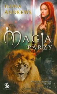 Magia parzy - okładka książki