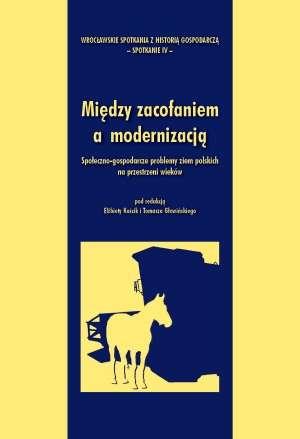 Między zacofaniem a modernizacją - okładka książki