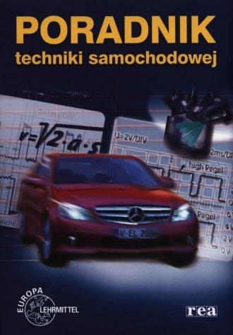 Poradnik techniki samochodowej - okładka książki