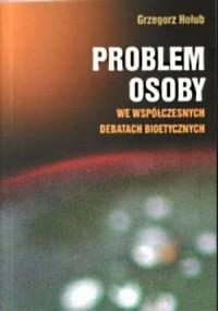 Problem osoby we współczesnych - okładka książki