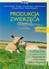 Produkcja zwierzęca cz. 2. Podręcznik - okładka podręcznika
