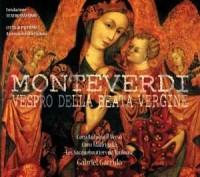 Vespro della beata Vergine - Claudio Monteverdi - okładka płyty