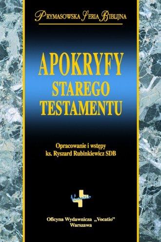 Apokryfy Starego Testamentu - okładka książki