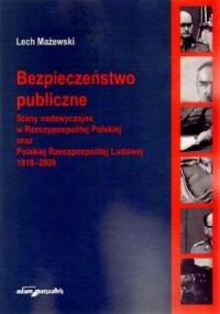 Bezpieczeństwo publiczne. Stany - okładka książki