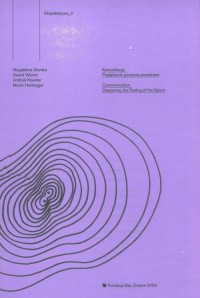 Ekspektatywa 2. Komunikacja. Pogłębianie poczucia przestrzeni - okładka książki
