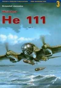 Heinkel He 111 vol. I - okładka książki