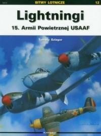 Lightningi 15. Armii Powietrznej USAAF - okładka książki