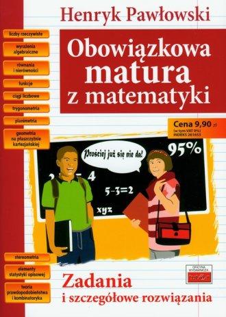 Obowiązkowa matura z matematyki - okładka podręcznika