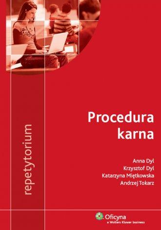 Procedura karna. Repetytorium - okładka książki