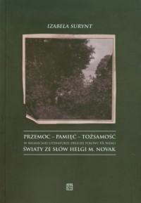 Przemoc-pamięć-tożsamość w niemieckiej - okładka książki