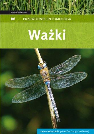 Ważki. Przewodnik entomologa - okładka książki