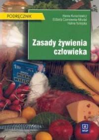 Zasady żywienia człowieka. Podręcznik - okładka książki