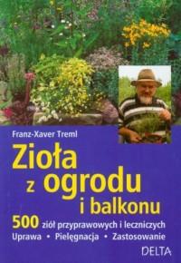 Zioła z ogrodu i balkonu - okładka książki