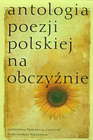 Antologia poezji polskiej na obczyźnie - okładka książki