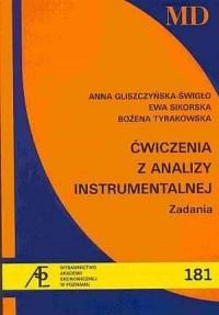 Ćwiczenia z analizy instrumentalnej. Zadania - okładka książki