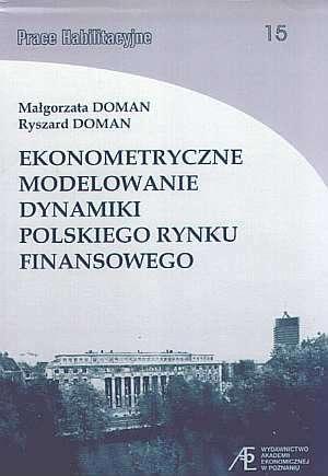 Ekonometryczne modelowanie dynamiki - okładka książki