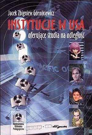 Instytucje w USA oferujące studia - okładka książki