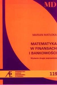 Matematyka w finansach i bankowości - okładka książki