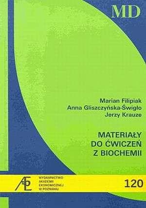 Materiały do ćwiczeń z biochemii - okładka książki