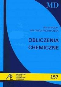 Obliczenia chemiczne - okładka książki