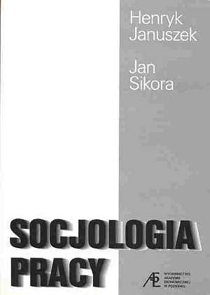 Socjologia pracy - okładka książki