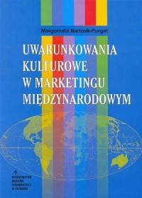Uwarunkowania kulturowe w marketingu - okładka książki