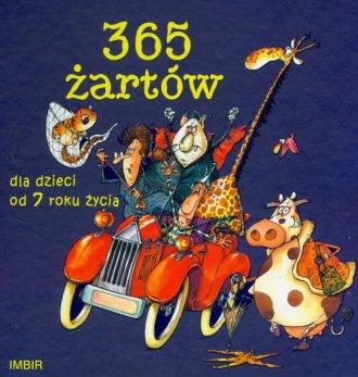 365 żartów Dla dzieci od 7 roku - okładka książki