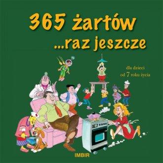 365 żartów raz jeszcze - okładka książki