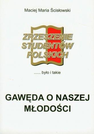 Gawęda o naszej młodości - okładka książki
