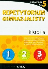 Gimnazjum na 5. Repetytorium gimnazjalisty. Historia - okładka podręcznika