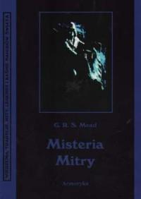 Misteria Mitry. Seria: Wierzenia, tradycje, mity, legendy i baśnie narodów świata - okładka książki