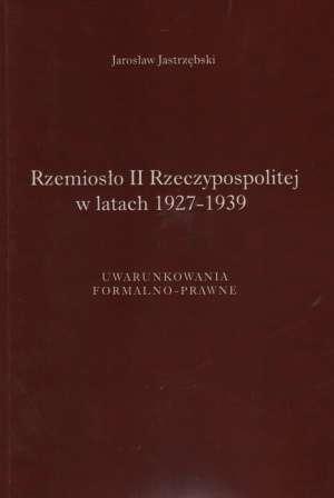 Rzemiosło II Rzeczypospolitej w - okładka książki