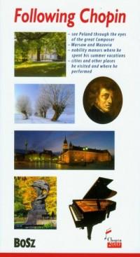 Śladami Chopina. Przewodnik (wersja ang.) - okładka książki