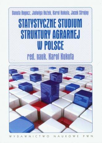 Statystyczne studium struktury - okładka książki