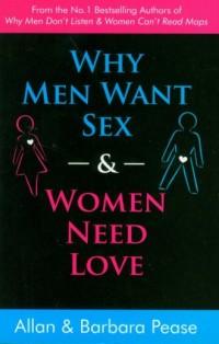 Why Men Want Sex and Women Need Love - okładka książki