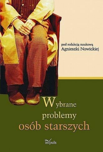 Wybrane problemy osób starszych - okładka książki