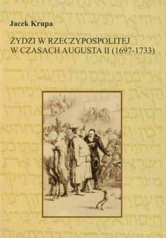 Żydzi w Rzeczypospolitej w czasach - okładka książki