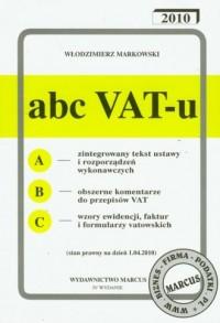 Abc VAT-u 2010 - okładka książki