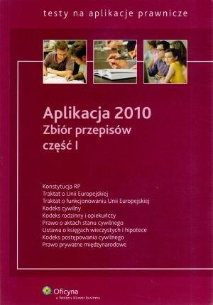 Aplikacja 2010. Zbiór przepisów - okładka książki