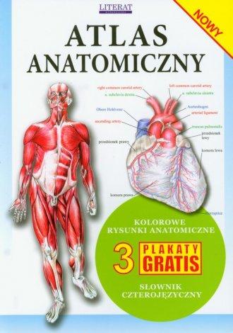 Atlas anatomiczny - okładka książki